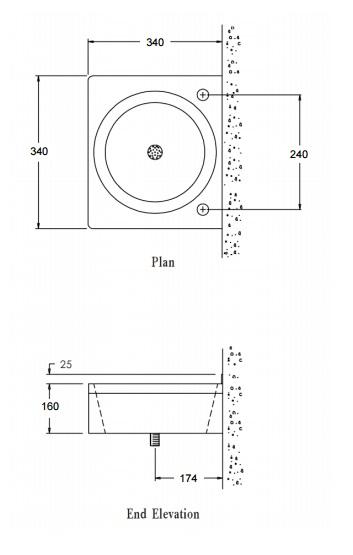 Compact Wash Basin