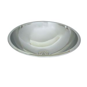 Inset Large Hemispherical Wash Bowl image