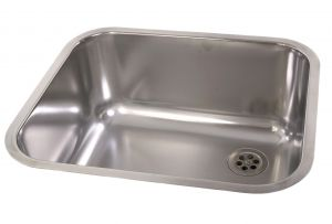 Inset Large Rectangular Dental Sink image