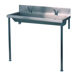 Heavy Duty Wash Trough With Tap Ledge And Legs image