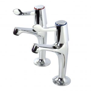 High Neck Lever Operated Sink Taps image