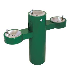 Free Standing Tri-Level Outdoor Drinking Fountain image