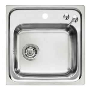 Inset Single Bowl Catering Sink Top image