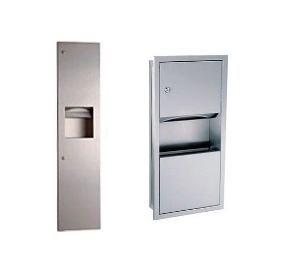 Combi Waste & Towel Dispenser image