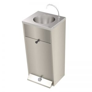 Foot Operated Floor Standing Wash Basin image