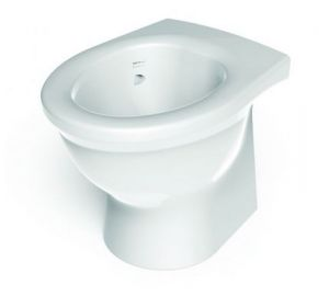 Ligature Resistant Solid Surface Back to Wall Toilet image