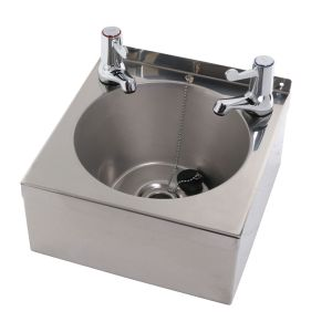 Mini Wall Mounted Wash Basin image
