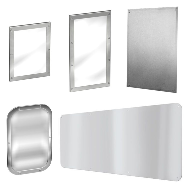 Stainless Steel Mirrors image