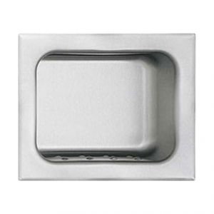 Stainless Steel Recessed Soap Dish image
