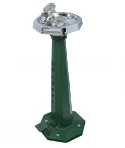 Free Standing Octagonal Outdoor Drinking Fountain image