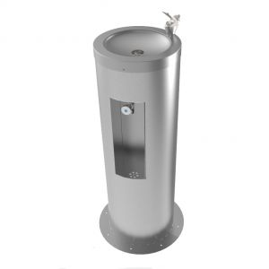Rounded Combi Drinking Fountain & Bottle Filler image