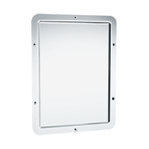 Stainless Steel Security Mirror image