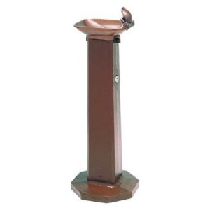 Free Standing Contemporary Outdoor Drinking Fountain image
