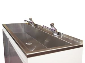 Sit On Wash Trough With Tap Ledge image