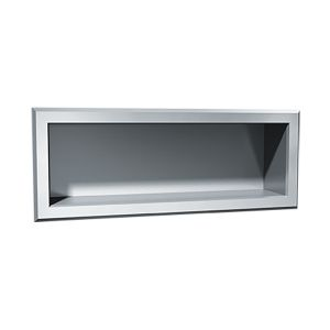 Stainless Steel Recessed Shelf image