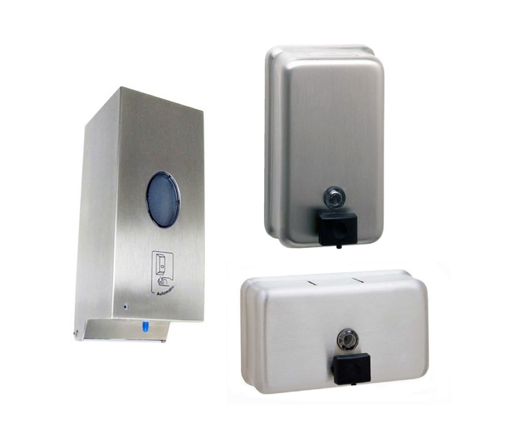 Wall Mounted Soap Dispensers image