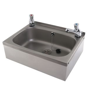 Wall Mounted Wash Basin with Apron Support image