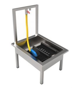 Floor Standing Boot Wash Sink image