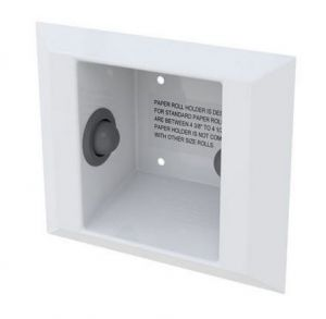 Ligature Resistant Semi Recessed Toilet Roll Holder image