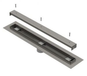 Ligature Resistant Linear Drain with Flashing Flange image